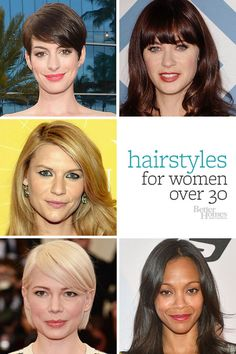 Click through for our favorite looks for your thirties: http://www.bhg.com/beauty-fashion/hair/hairstyles-for-women-over-30/?socsrc=bhgpin071614thirtyhair
