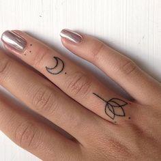 ✨фото пальчиков поближе )) #handpokedtattoo #handpoke #stickandpoke…