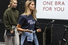 Copenhagen Fashion Week's Street Style Parade Photos | W Magazine
