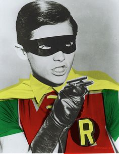 I had a crush on Robin.  And Batman.  And a little bit on Catwoman, too.  But not on Alfred.  That would be going too far.