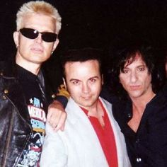 dannydeanrocks's Instagram Danny Dean in the middle of Billy Idol and Steve Stevens how cool is this one! #billyidol #stevestevens #easter #easterband #1980spunk #punkflyer #southbaypunk #punkpioneer #anti #antiband #hardcoreppunk #dannydean #dannydeanphillips #dannyphillips #newundergroundrecords #moodofdefiance www.dannydean.com #rockabilly #dannydeanandthehomewreckers #rockabillyband #swingrevial #neorockabilly