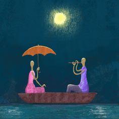 Russian Illustratior Elena Lishanskaya ~ Blog of an Art Admirer