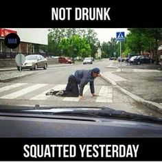 Did you squat yesterday???