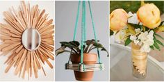 Think modern decor and pretty gift ideas over grade-school crafts.