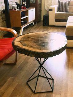 Kristal Kütük Sehpa - Odywood - Mobilya 260828   zet.com