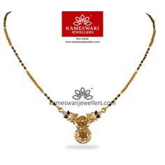 Shop bridal jewellery and South Indian mangalsutra online from Kameswari Jewellers! Bridal Jewellery Online, Bridal Jewelry, Silver Jewelry, Jewelry Rings, Black Diamond Jewelry, Silver Rings, High Jewelry, Beaded Jewelry, Gold Earrings Designs