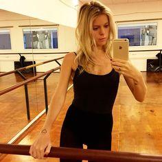 Bom dia! Pronta para o Ballet Fitness  #studioanaca
