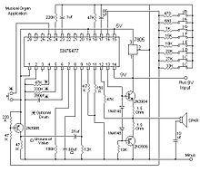 SN76477 as musical organ