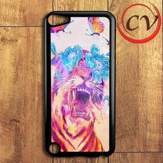 Floral Tiger Butterfly iPod 5 Case