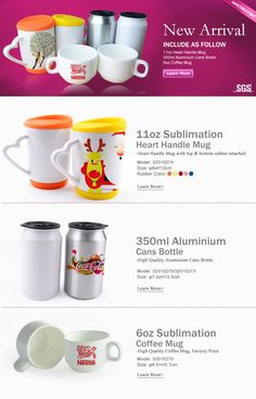 New sublimation mugs from Microtec, get a nice price
