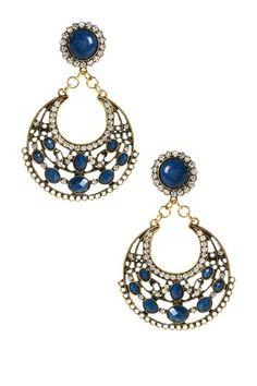 Ronnie Chandelier Earrings by Amrita Singh on @HauteLook