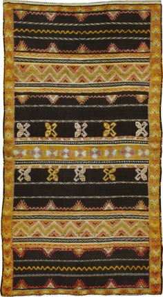 Vintage Moroccan Rug, No. 22974