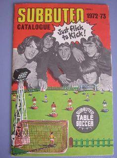 Subbuteo catalogus 1972-73