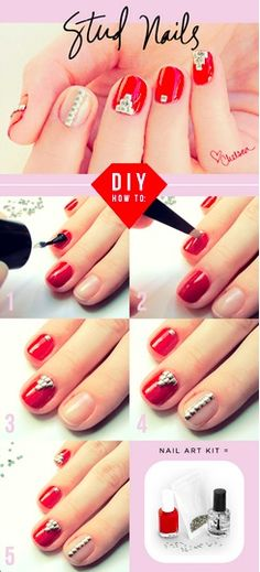 Grab a diy nail art stamping set for just 14 from distribution box find this pin and more on nail art glitter studs embelishments how to diy solutioingenieria Image collections