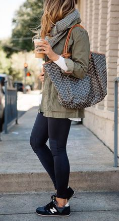 d0242abb42d This casual outfit is one of the best cute outfits for running errands!  Casual Sneakers