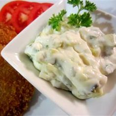 Jalapeno Tartar Sauce - Excellent flavor! Great with grilled, broiled or fried fish.