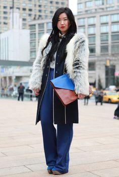 Jinna Yang of Grease and Glamour at NYFW