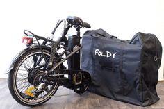 FOLDY - AGOGS borsa per bicicletta Lowstep