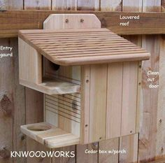 how to make a squirrel house - I want to make one!!