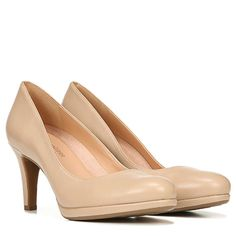 Naturalizer Michelle Classic Heels - Taupe