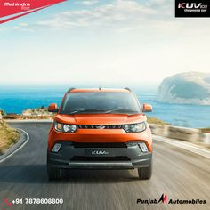 #KUV100 is the all-new young SUV from Mahindra. Its aggressive styling, dominating SUV stance, mFALCON petrol & diesel engines. #Ahmedabad
