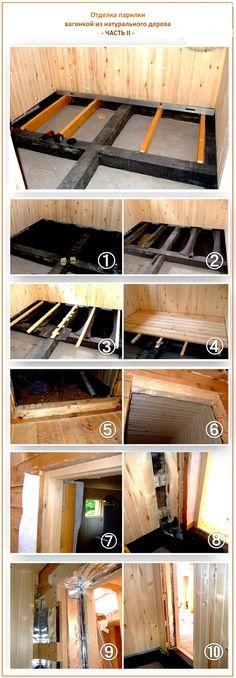 отделка парилки вагонкой часть 2 New Shed Ideas, Building A Sauna, Sauna Design, Sauna Room, Space Interiors, Hostel, Wine Rack, Home Remodeling, Backyard