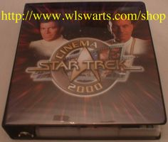 Star Trek Cinema 2000 MASTER set of 290 cards VERY RARE! MINT! GALACTIC CONFLIX!