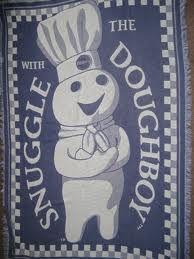 Pillsbury Doughboy Blanket