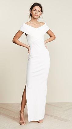 Solace London Adina Dress at 15 Dresses, Bridal Dresses, Casual Dresses, Formal Dresses, Crepe Wedding Dress, London Outfit, Bridal Dress Design, Dressed To The Nines, China Fashion