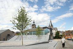 Espace Culturel Victor Jara / L'Escaut Architectures + Bureau d'études Weinand