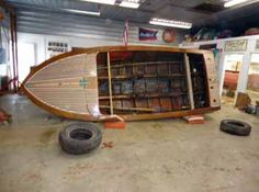 It would be cool to restore an old boat like this one day