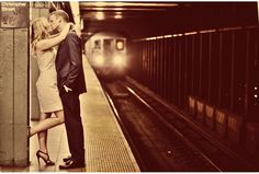 New York City Engagement Portrait | Marie Labbancz Photography