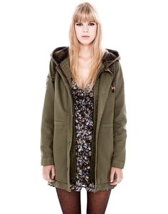 HOODED PARKA - NEW PRODUCTS - WOMAN - PULL Israel