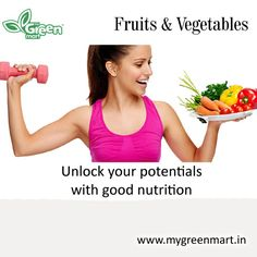 Unlock your potentials with good nutrition