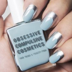 Obsessive Compulsive Cosmetics Two-Tone Manicure