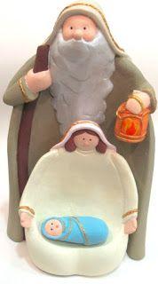 Ateliê Le Mimo: NATAL  Sagrada Família de encaixe