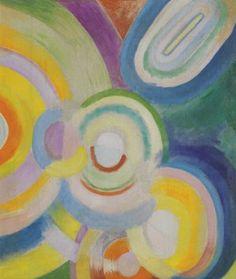 Disques colorés, par Robert Delaunay 1912-1913, orphisme