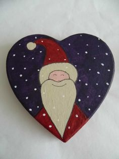 Large Father Christmas / Santa Claus hand by SussexArtStudio, £15.00