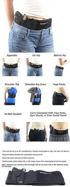 Holsters 177885: Ultimate Belly Band Holster For Concealed Carry | Black | Fits Gun Smith And ... -> BUY IT NOW ONLY: $49.26 on eBay!