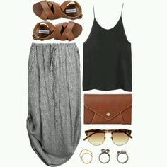 so simple and casual, yet so cute!