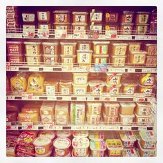 miso selection. ++ @HelloSandwich