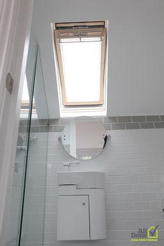 #Bathroom Bathroom #Bedroom, En Suite in the New Loft Conversion #Design & #Build by All Done Design & Build Ltd.