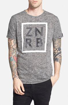 ZANEROBE 'Cube' Longline Graphic T-Shirt