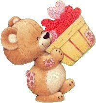Free and very cute clipart of teddy bears, kittens and many other adorable animals holding hearts, making Valentine's cards and other sweet images. Teedy Bear, Bear Gif, Teddy Bear Images, Teddy Bear Pictures, Valentine Images, Bear Valentines, Gifs, Cute Clipart, Love Hug