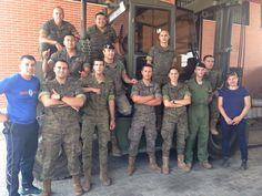 El grupo de formación de la BRIPAC