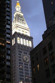 Clock on the Metropolitan Life Insurance Building, New York