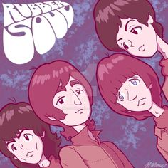Rubber Soul by McCartney-Crazy Submarine Movie, Yellow Submarine, Beatles Art, The Beatles, Beatles Lyrics, John Lennon, Fanart, Rock And Roll Bands, The Fab Four