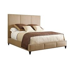 Carlyle King Bed from the Acquisitions Upholstery collection by Henredon Furniture
