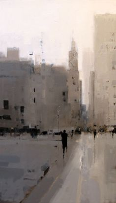 Left of TV Geoffrey Johnson - City Buildings Gray Urban Painting, Painting & Drawing, Gustav Klimt, Wow Art, Art Gallery, Painting Gallery, Urban Landscape, Art Plastique, Oeuvre D'art