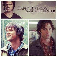 Happy 33rd Birthday Sam Freaking Winchester!!